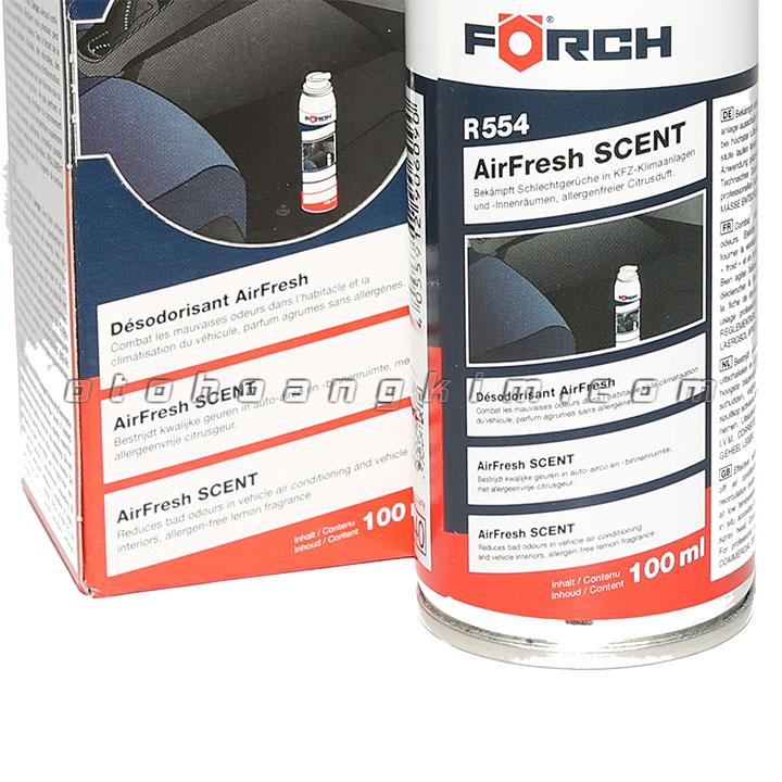 sản phẩm Dung dịch vệ sinh Forch R554 Airfresh Scent/ xịt khử mùi 100 ml