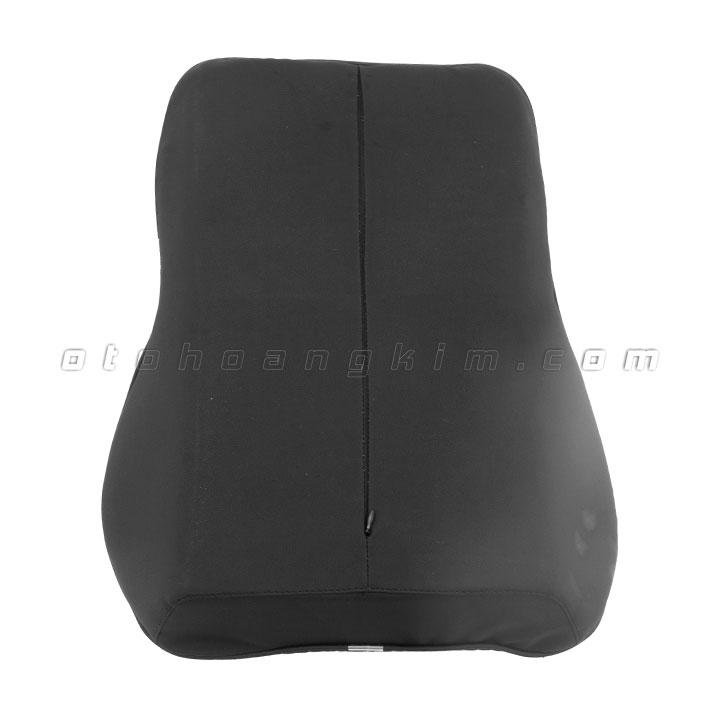 Gối lưng GL01 cao su non lớn đen 2 màu