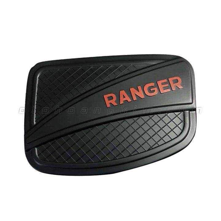 Nắp xăng Ranger [2014 - 2019] đen