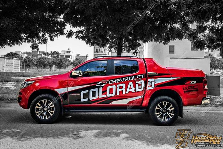TEM XE CHEVROLET COLORADO - CCL013