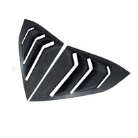Ốp mang cá khung kính Civic [2017-2020] đen