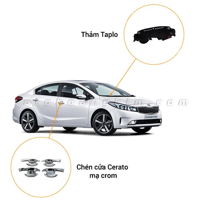 13 phụ kiện xe Kia Cerato [2016-2018]