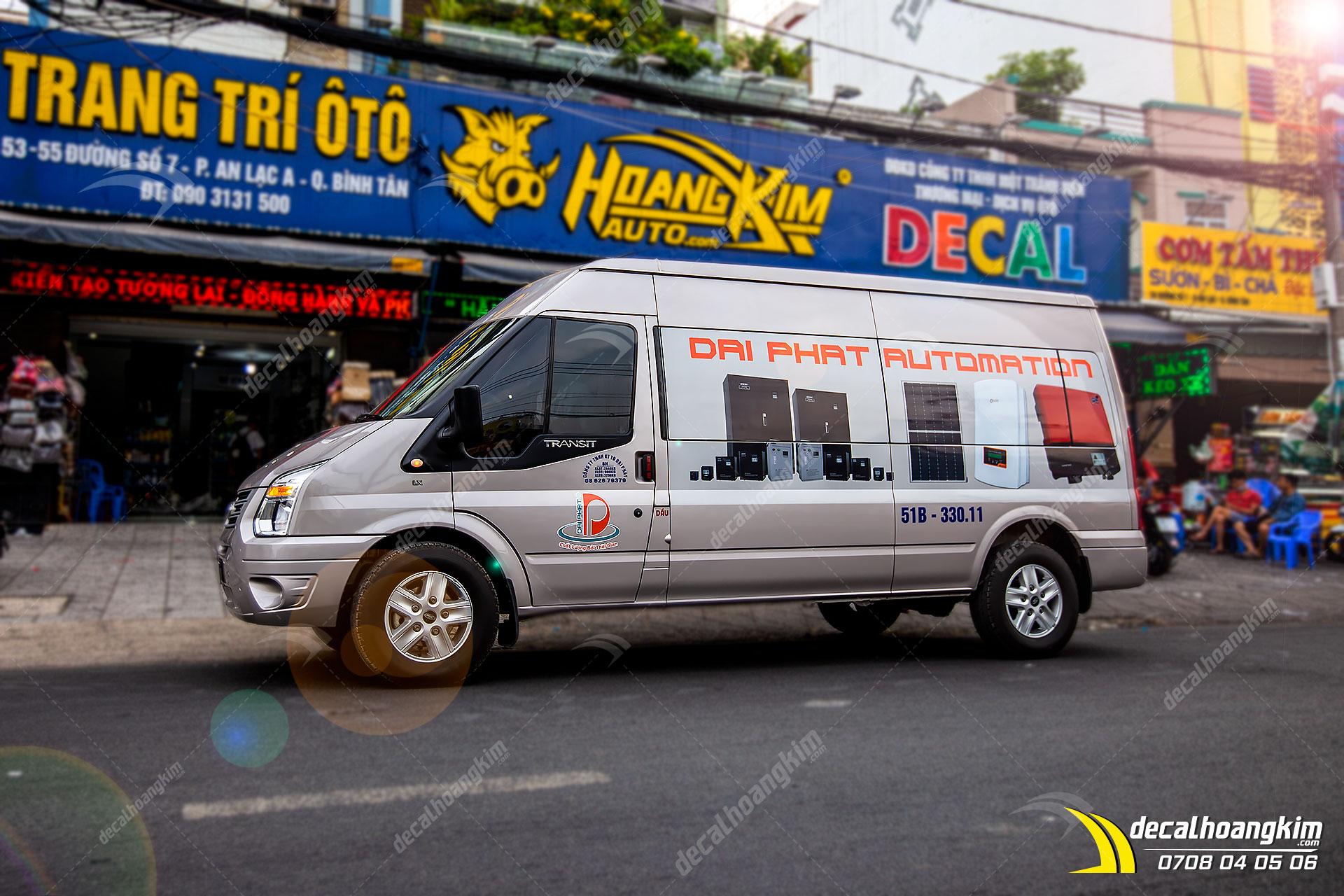 Dán Quảng Cáo Trên Xe Ô Tô - DQC181