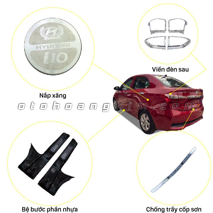 8 phụ kiện Hyundai I10 4 cửa [2015-2018]