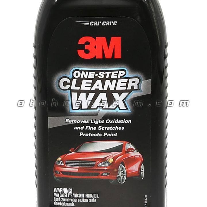 Dung dịch bảo dưỡng 3M One-Step Cleaner Wax đánh bóng phá xước 473ml