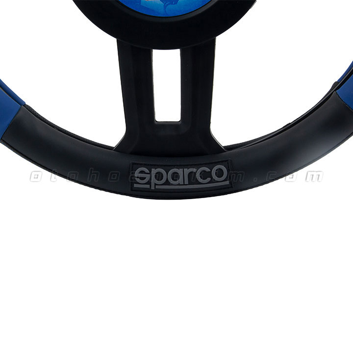 Bọc vô lăng Sparco xanh