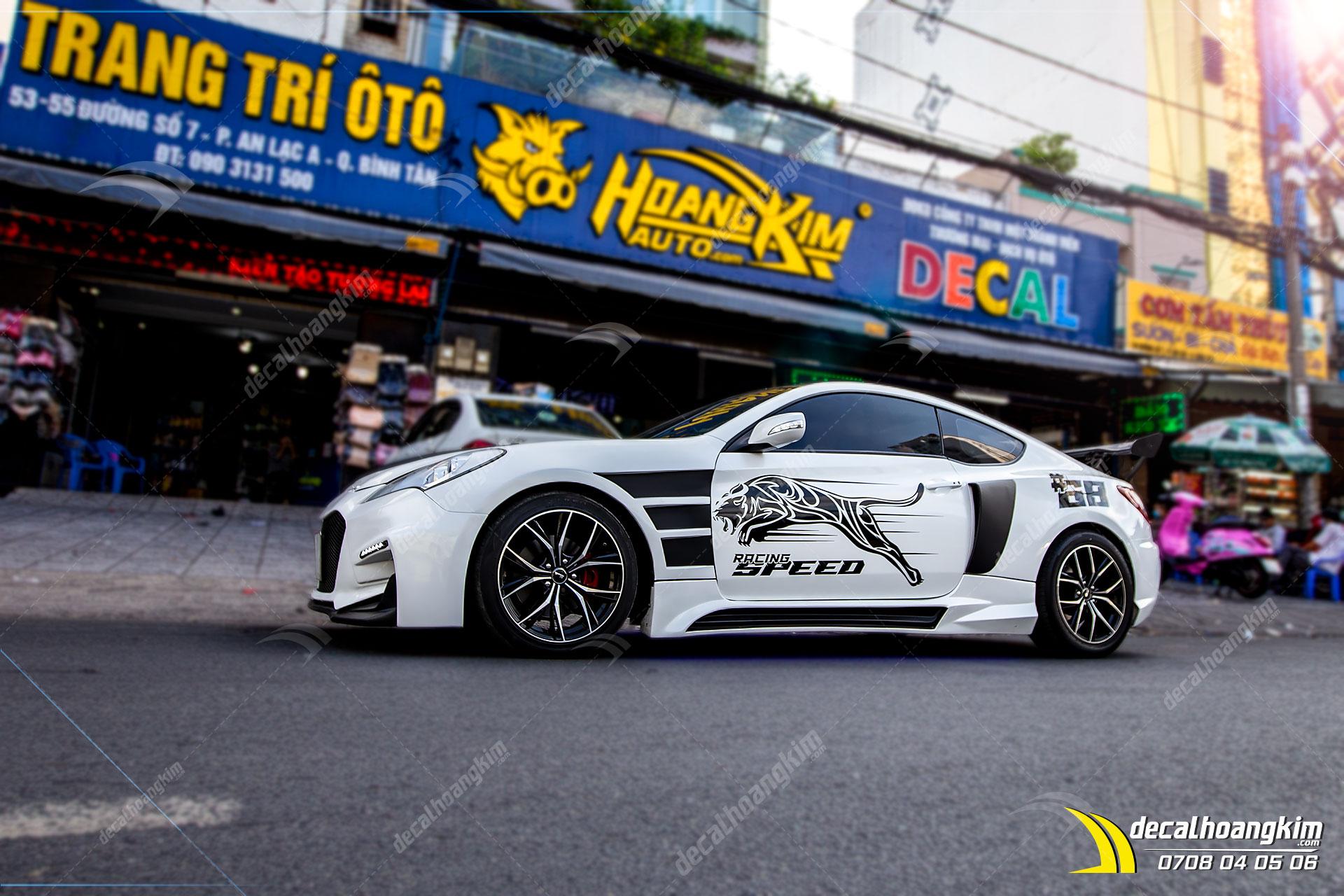Tem Xe Hyundai Genesis - HGE017