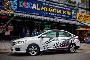 TEM XE HONDA CITY - HCT010
