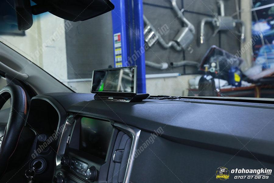 Camera hành trình - Đồ chơi xe bán tải Traiblazer tại Ô Tô Hoàng Kim chi nhánh Tp.HCM và Bình Dương