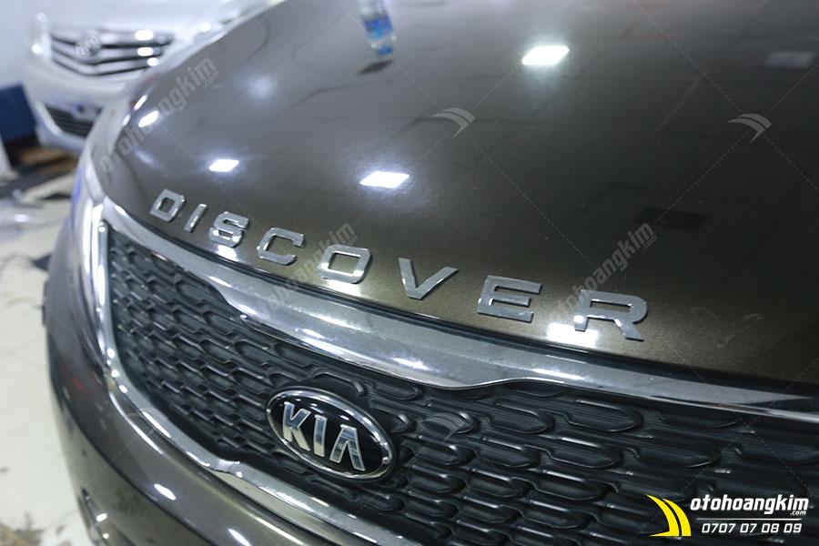 Chữ nổi trang trí xe Kia Sorento