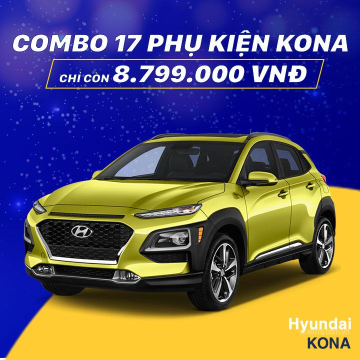 17 phụ kiện xe Kona [2018-2020]
