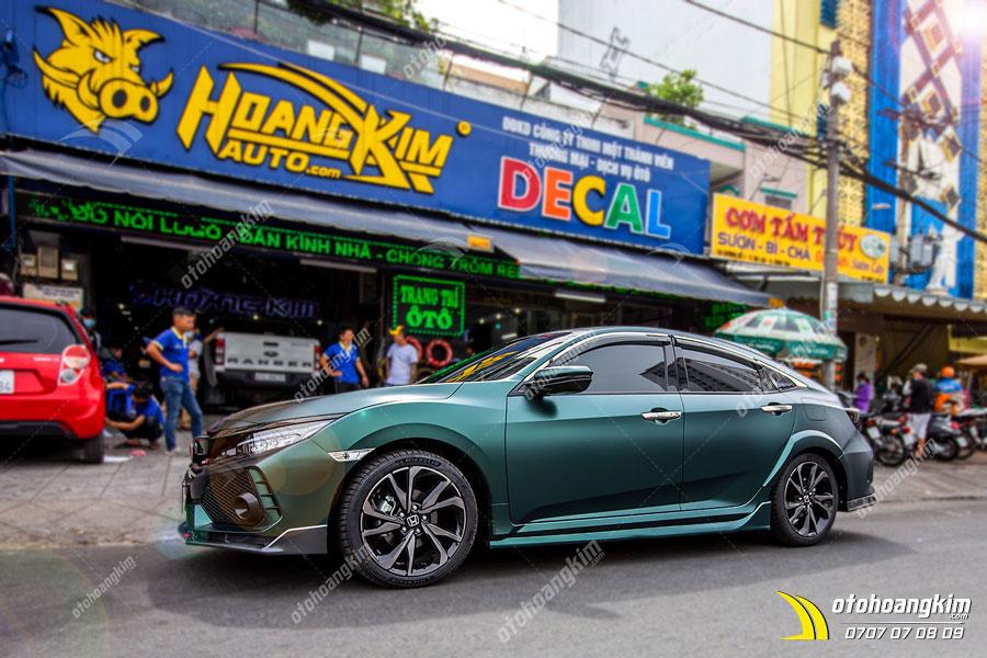 Honda Civic full Wrap đổi màu xe cực chất