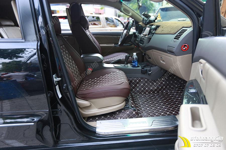 Lót sàn 5D xe Toyota Fortuner