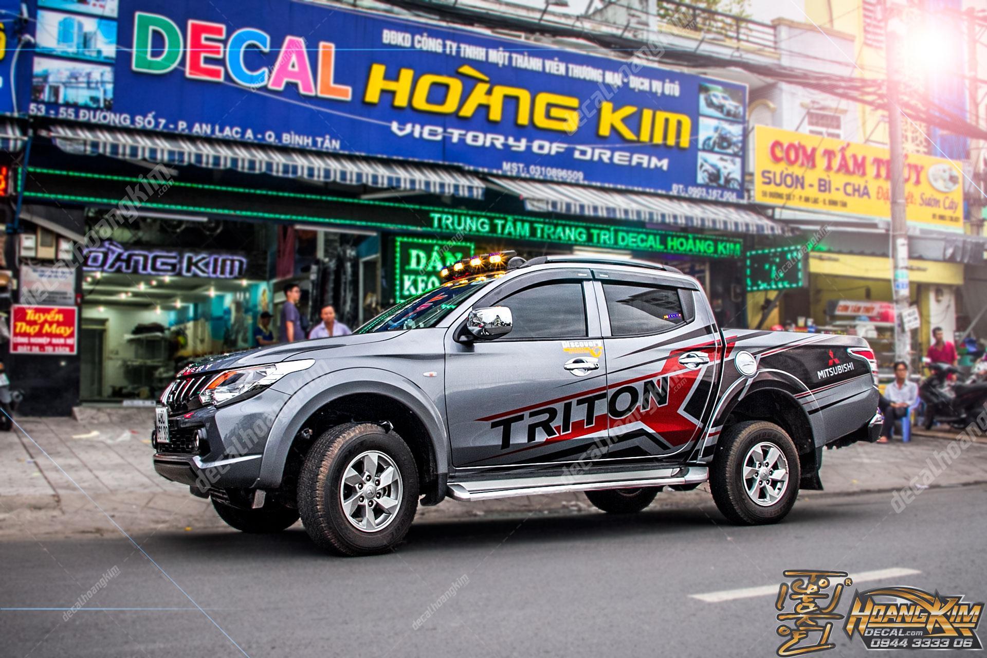 TEM XE MITSUBISHI TRITON - MTR006