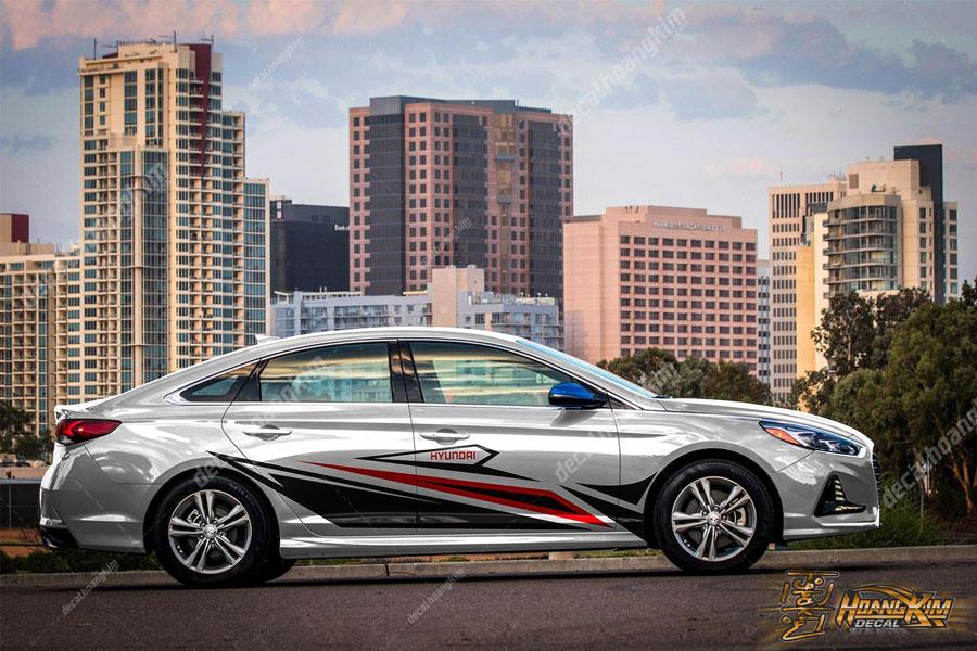 Mẫu tem xe Hyundai Elantra cực độc đáo ấn tượng