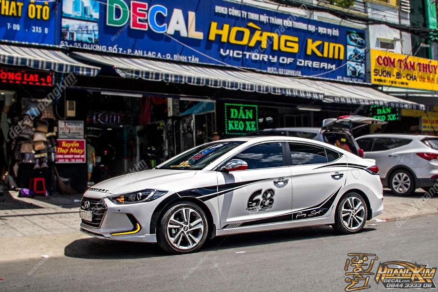 Mẫu ten xe Hyundai Elantra chất lừ