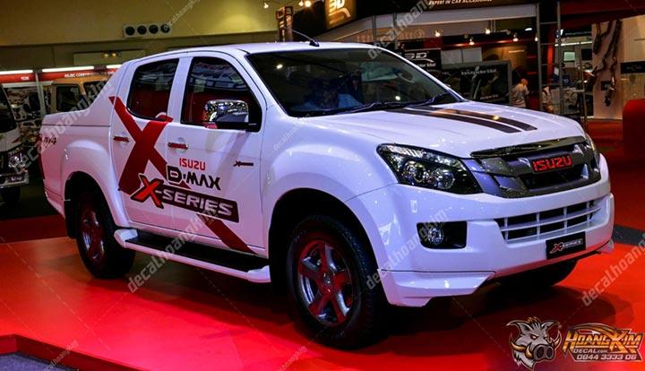 TEM XE ISUZU D-MAX -IDM003