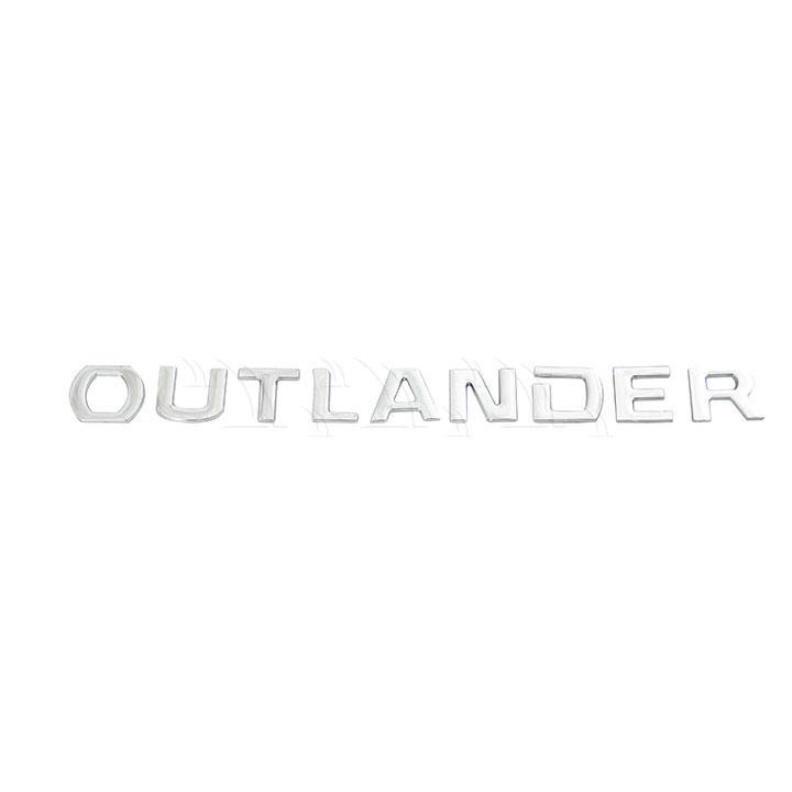 Chữ nổi Outlander inox