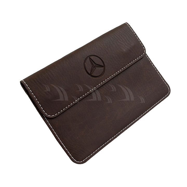 Bóp da nhỏ đựng giấy tờ Mercedes