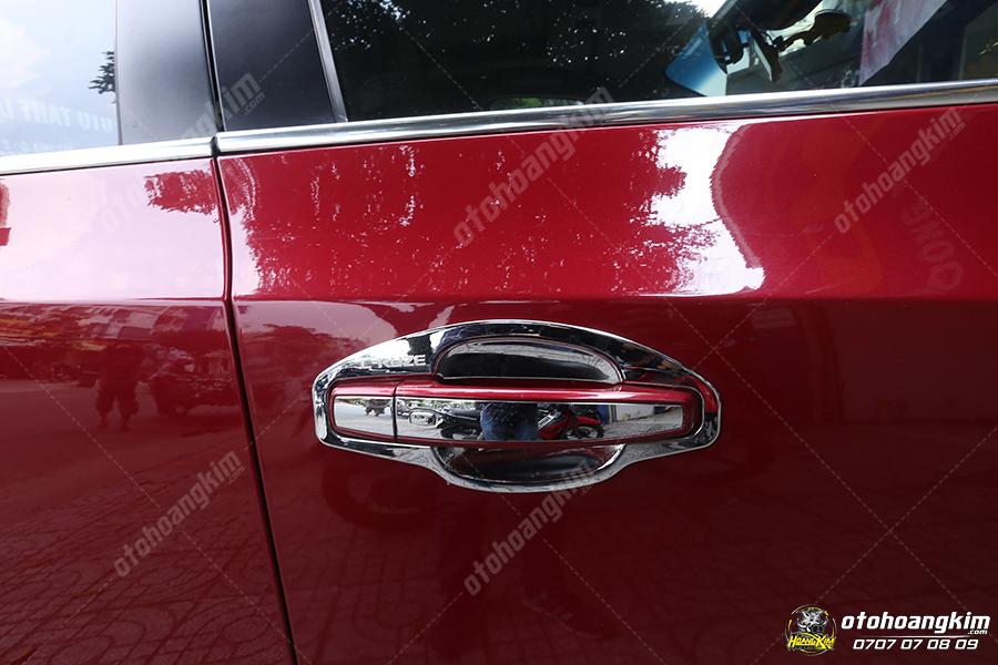 Bộ ốp hõm cửa và tay cửa cho xe Chevrolet Cruze
