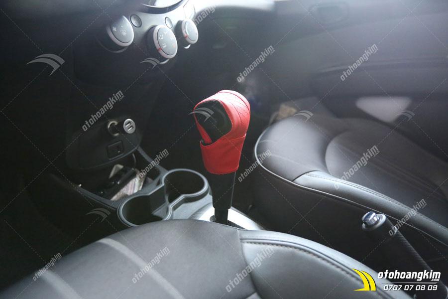 Mẫu bọc cần số xe hơi Chevrolet Spark của Ô tô Hoàng Kim