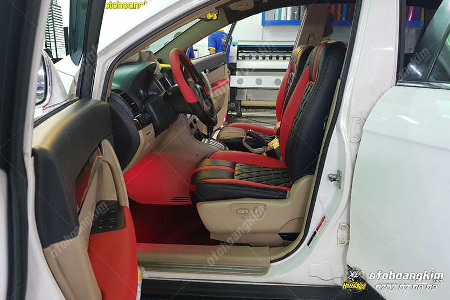 Bọc ghế da ô tô Chevrolet Captiva