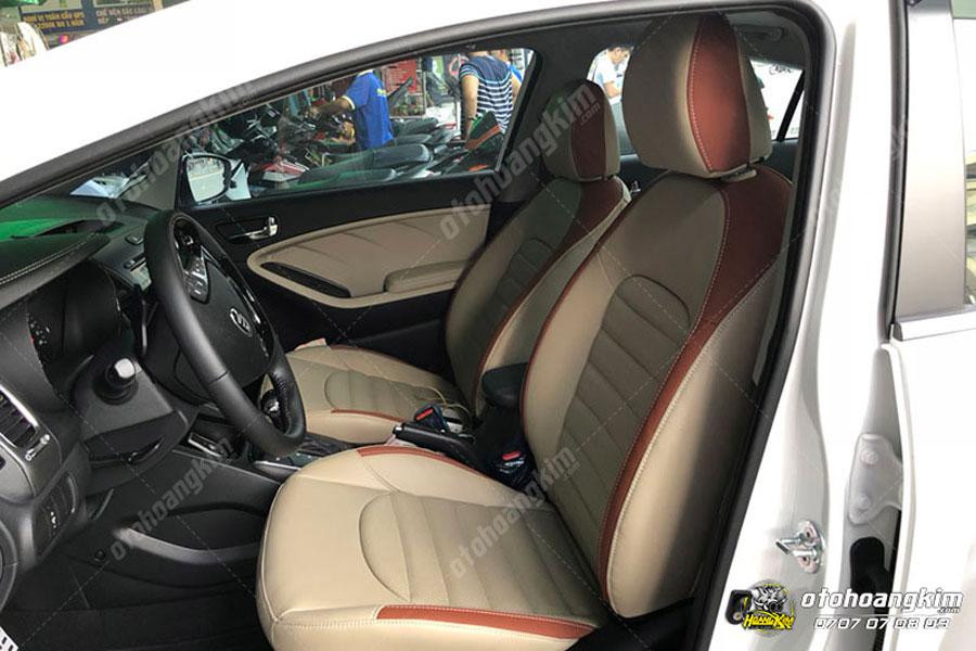 Chiếc ô tô được bọc ghế da cực cao cấp