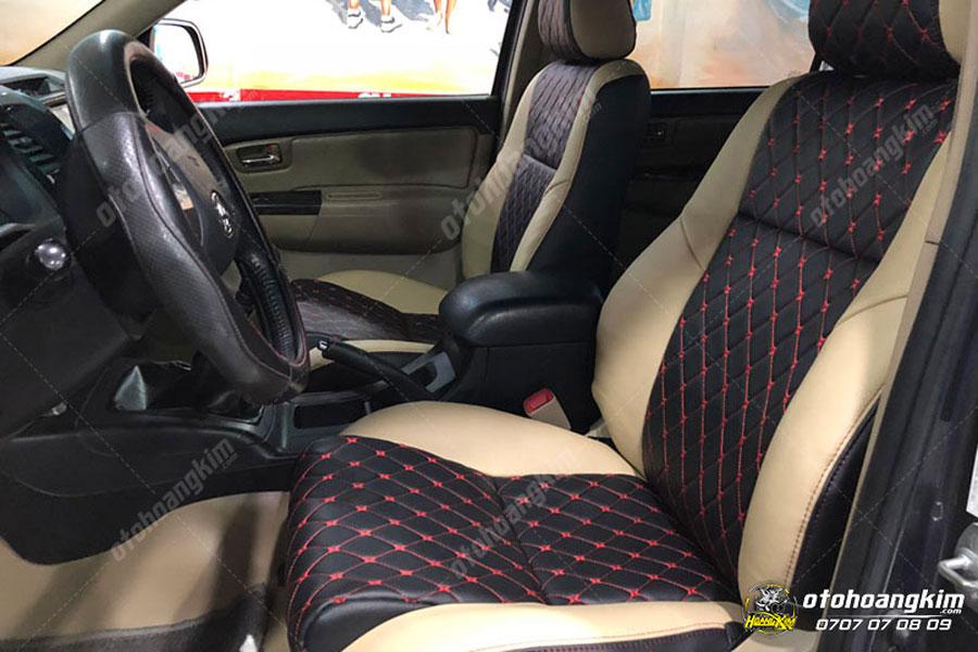 Bọc ghế da ô tô Toyota Fortuner chất lượng