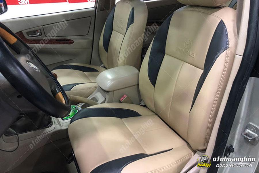 Bọc ghế da chất liệu simili sẽ có giá thành rẻ hơn so với gia thật nhưng vẫn mang lại nét sang trọng cho xe