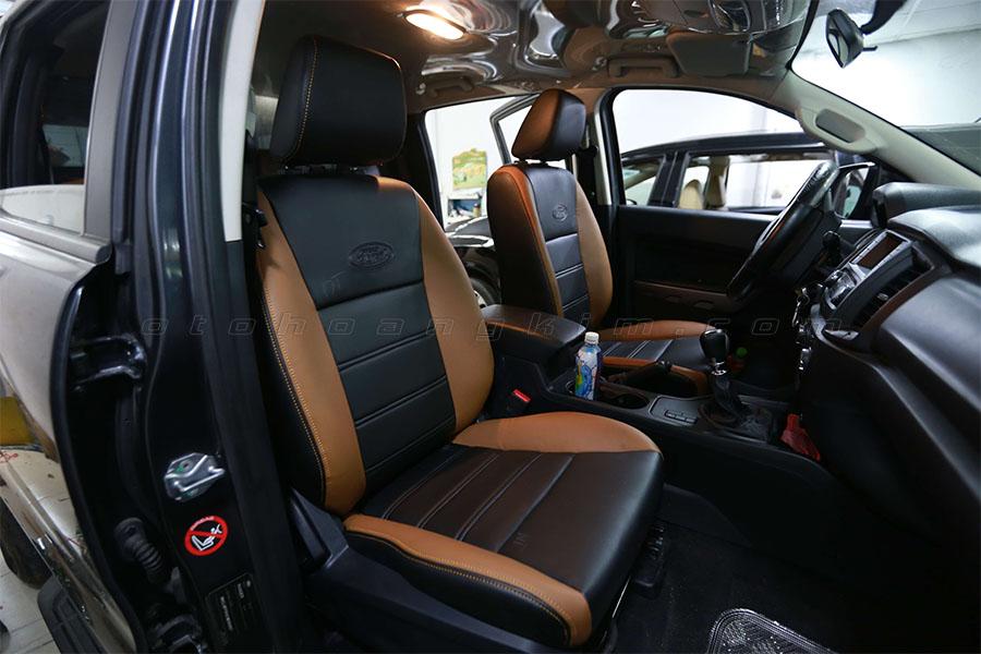 Vì sao nên bọc ghế da Ford Ranger?