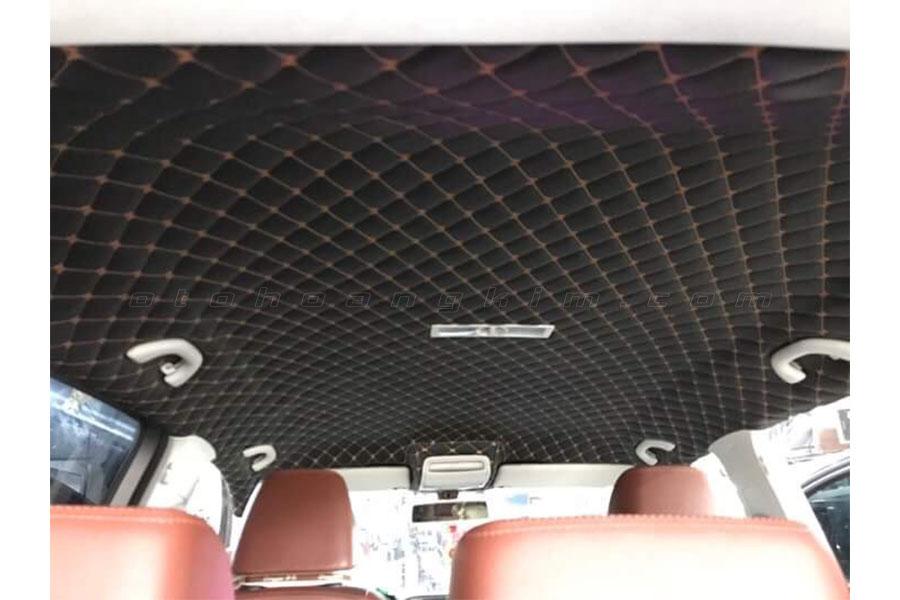 Bọc trần ô tô Innova giúp vệ sinh dễ dàng hơn