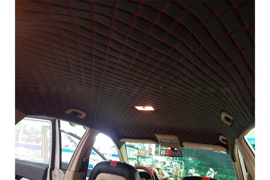 Chevrolet Captiva bọc trần giúp giảm tiếng ồn