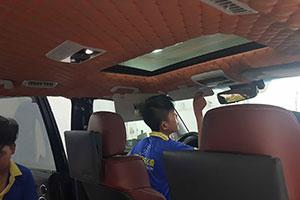 Bọc trần nỉ ô tô – lựa chọn làm mới khoang nội thất hoàn hảo cho chủ xế