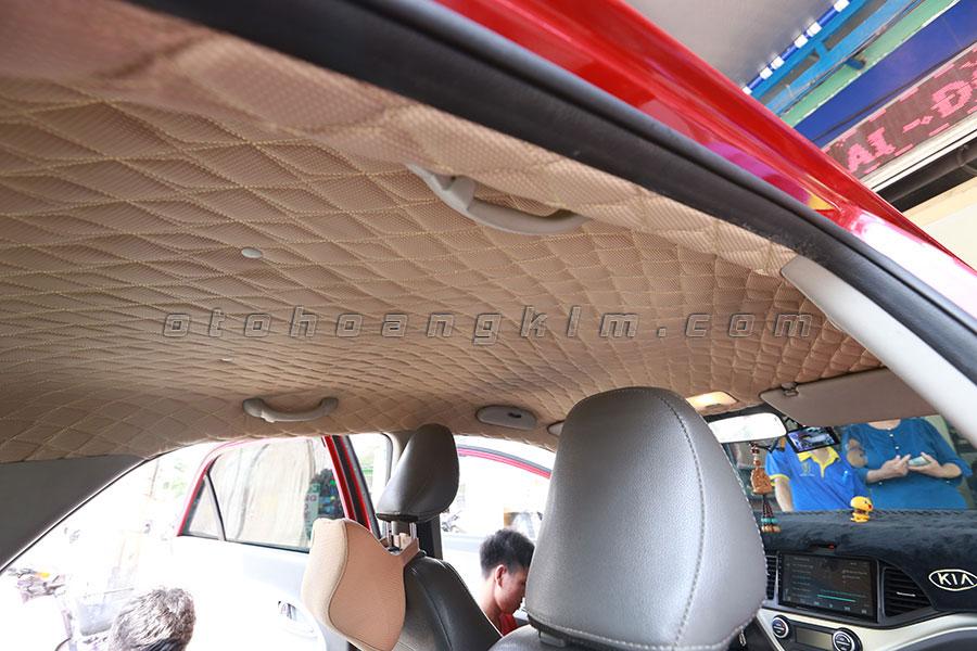 Bọc trần ô tô Kia Morning