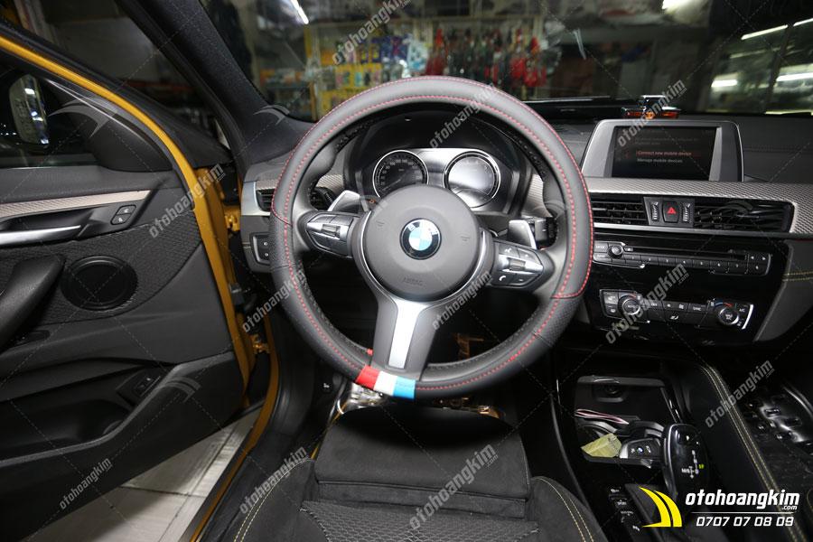 Bọc vô lăng ô tô BMW sang trọng