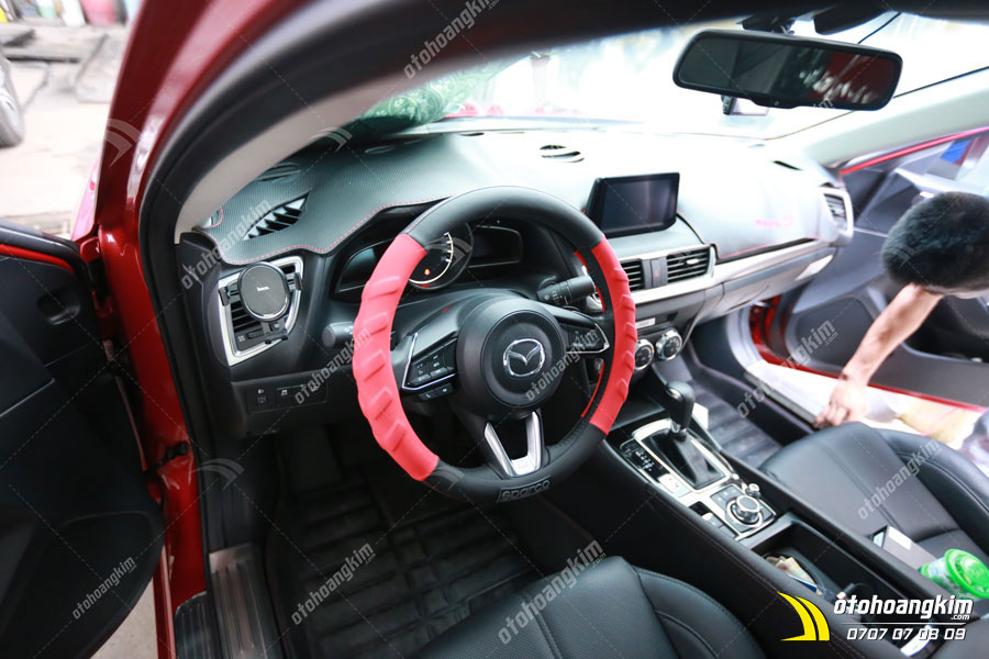 Phụ tùng ô tô - Bọc vô lăng Mazda 3