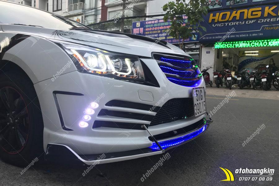 Mẫu body kit ô tô Chevrolet Cruze cực độc tại Hoàng Kim