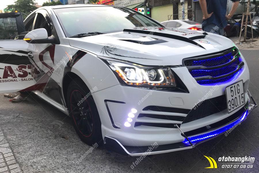 Độ body kit ô tô full bộ cho Chevrolet Cruze