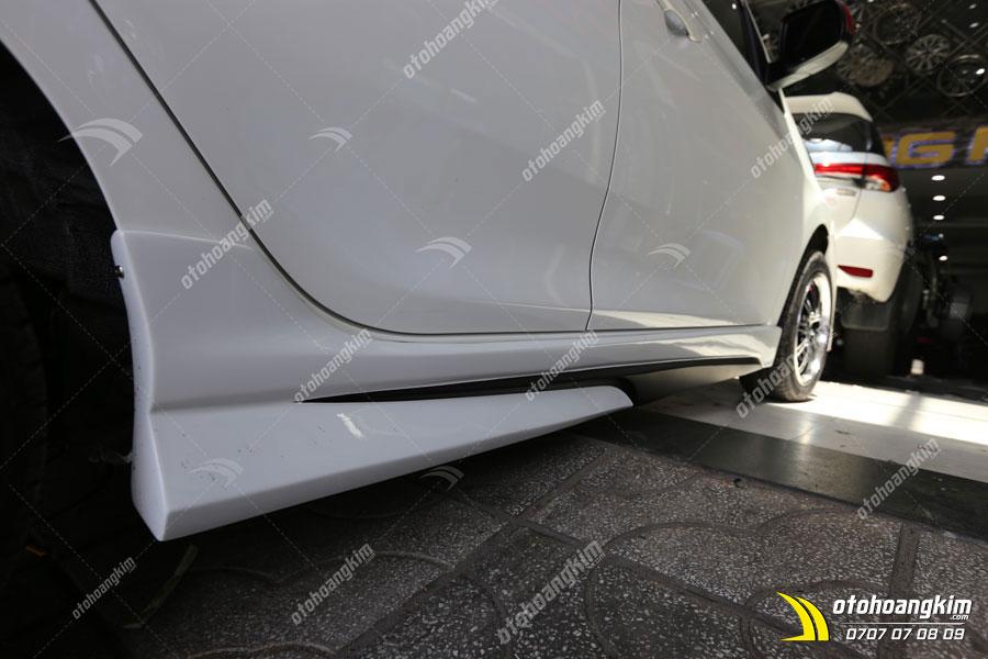 Lắp body kit ô tô Kia Morning phần sườn xe
