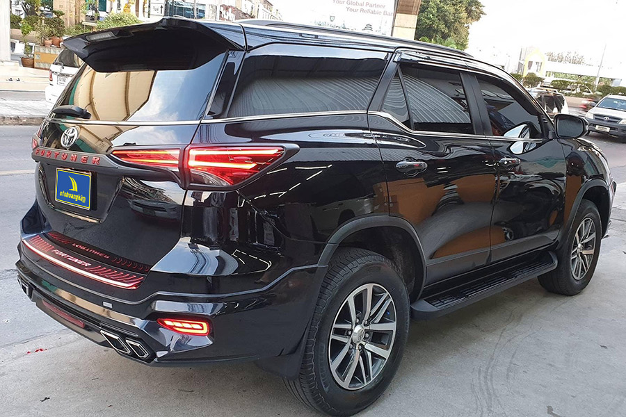Body kit Toyota Fortuner 2017 - 2019