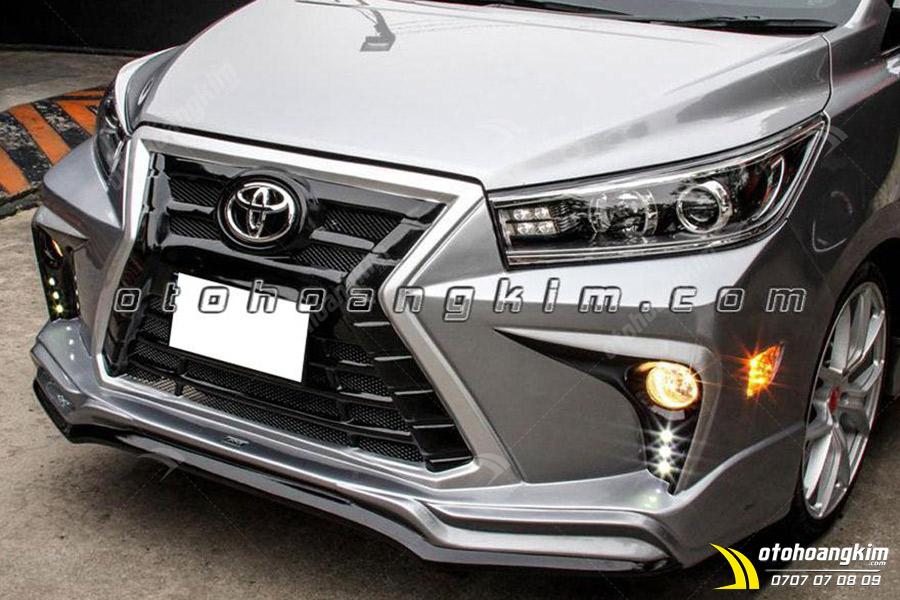 Body kit Toyota Innova dáng thể thao mạnh mẽ