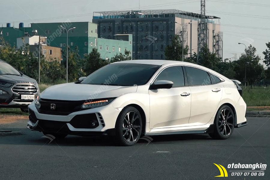 Thay đổi diện mạo vô cùng độc lạ cùngBody Kit Type R Honda Civic