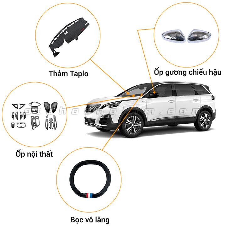12 phụ kiện xe Peugeot 5008 [2017-2020]