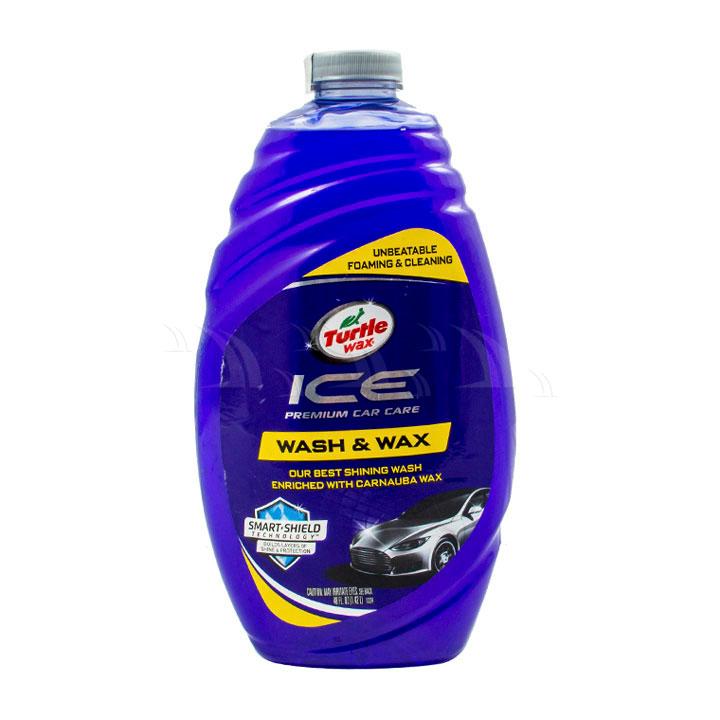 Dung dịch vệ sinh Turtle wax Ice Wash & Wax xà phòng rửa xe