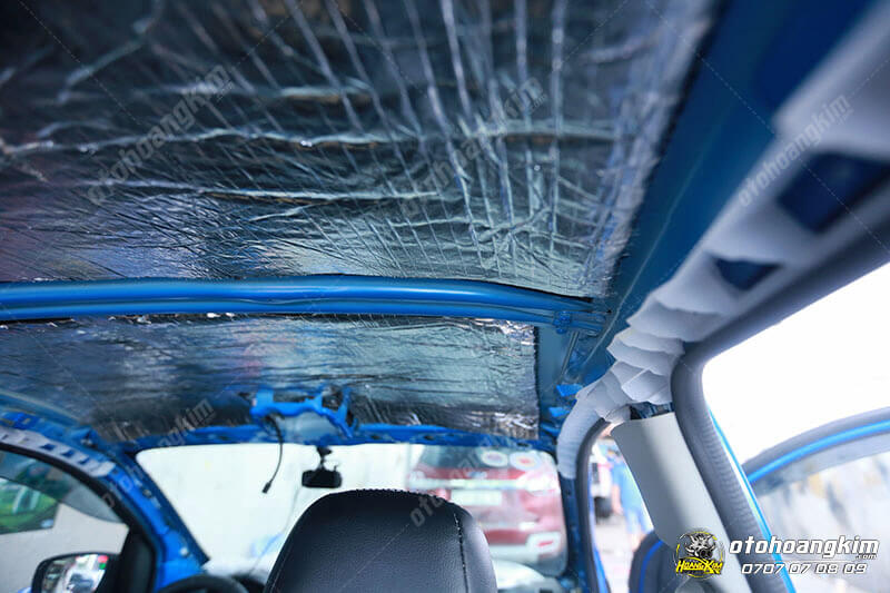 Cách âm chống ồn cho ô tô Suzuki Celerio