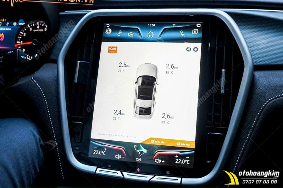 Màn hình hiển thị cảm biến áp suất lốp ô tô