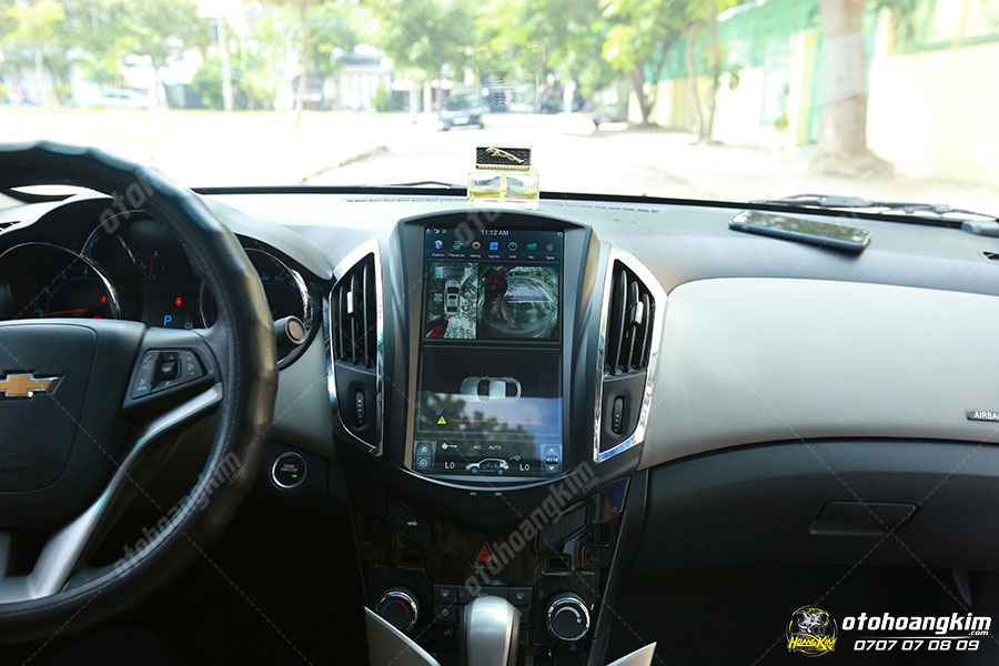 Camera 360 ô tô khắc phục tối đa các điểm mù cho tài xế
