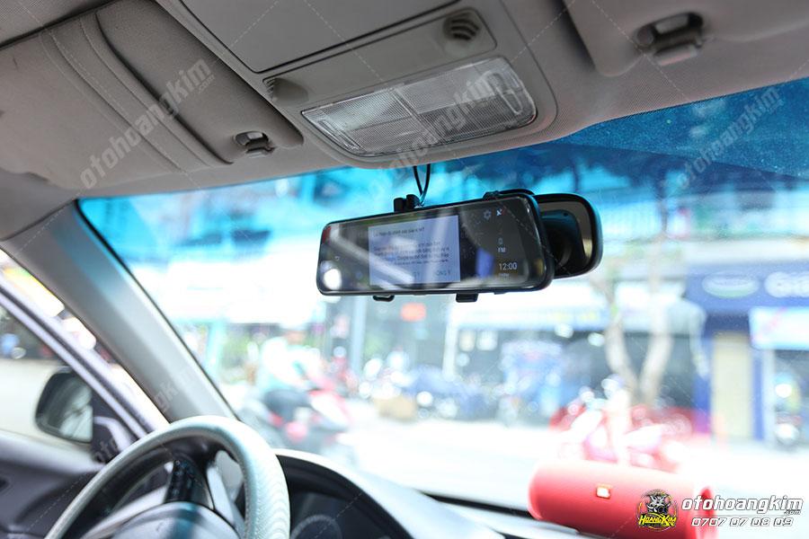 Camera hành trình lưu lại quá trình di chuyển, mang lại những đoạn video cần thiết