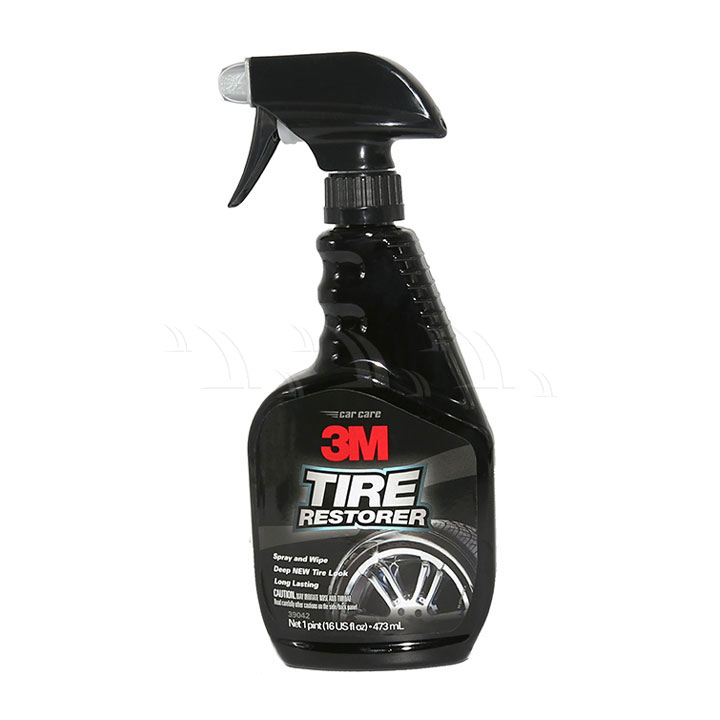 Dung dịch bảo dưỡng 3M Tire Restorer xịt bóng lốp xe 473ml