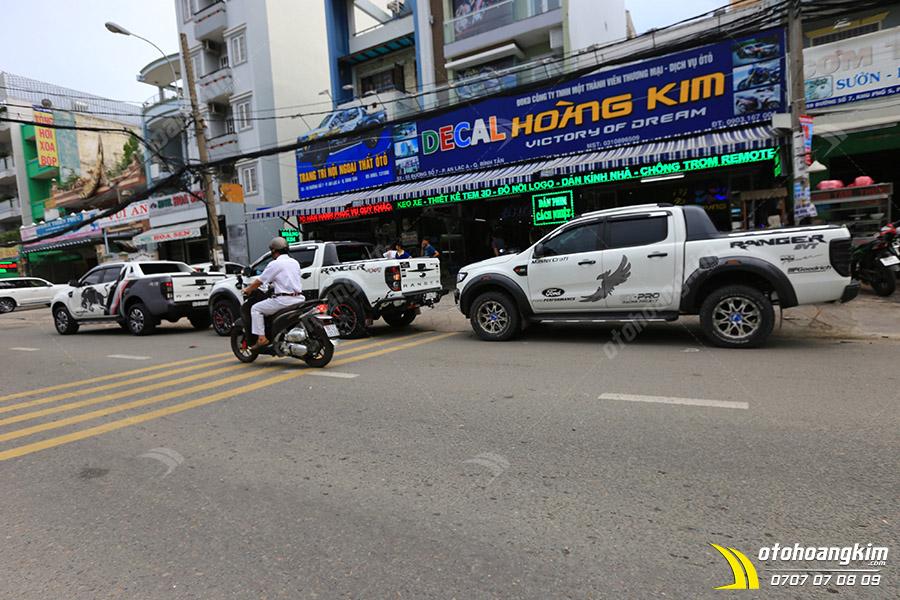 Ô tô Hoàng Kim tại Bình Tân